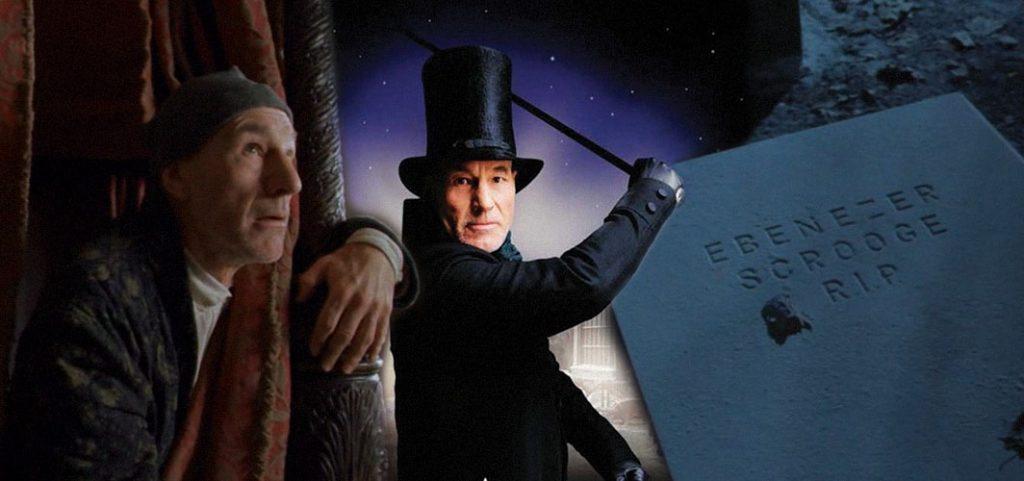 Ebenezer Scrooge Patrick Stewart