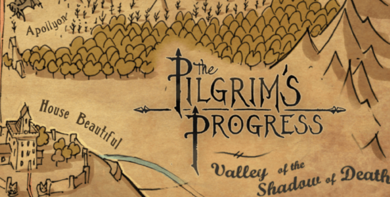 The Pilgrims Progress Map Post Image