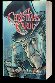 A Christmas Carol for Teens Cover 3D