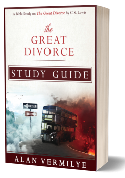 The Great Divorce Study Guide Cover 3D