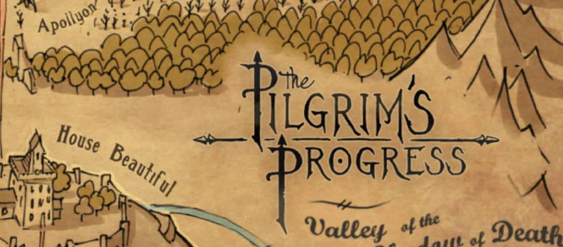The Pilgrims Progress Map Post Image