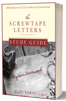 The Screwtape Letters Study Guide Cover 3d-2